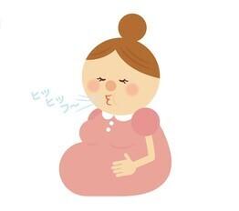 ラマーズ法イラスト,出産方法,