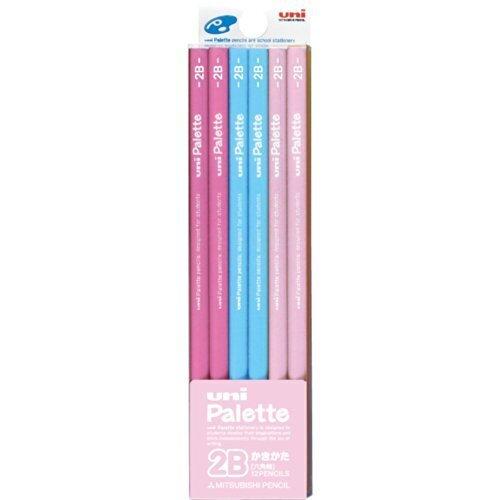 三菱鉛筆 かきかた鉛筆 ユニパレット 2B パステルピンク 1ダース K55612B,入学準備,グッズ,リスト
