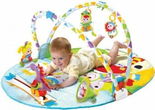 ユーキッド プレイマット レールの上を車が走る プレイジム 成長に合わせて長く使える 知育玩具,知育玩具,0歳,