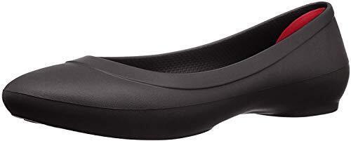 [クロックス] サンダル リナ フラット ウィメン 203404 black 22 cm,フラットシューズ,人気,