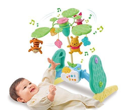 ディズニー ベビートイ くまのプーさん えらべる回転 6WAYジムにへんしんメリー,おもちゃ,赤ちゃん,