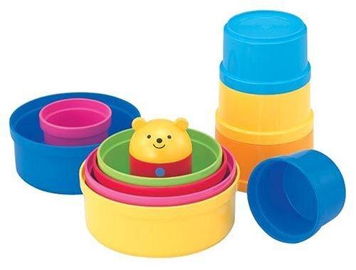 コンビ「コップがさね」,子ども,知育,おもちゃ