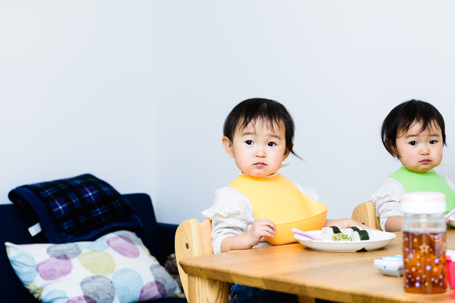双子の赤ちゃん,育児マンガ,