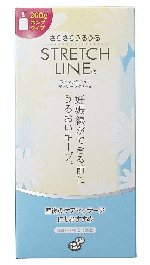 ストレッチライン マッサージクリーム,妊娠線予防クリーム,おすすめ,塗り方