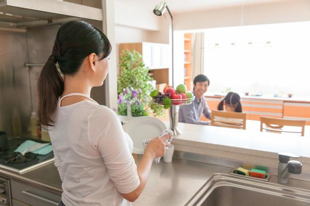 オープンキッチン イメージ,子育てしやすい家,