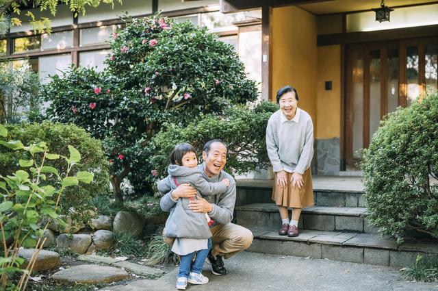 孫と祖父母,子育てしやすい家,