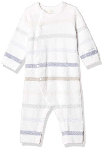 [ジェラート ピケ] 【Kids&Baby】スムーズィー6ボーダーbabyロンパース PBNO204452 BLU 日本 70 (~6か月 首すわり期) (-),ベビー服,ブランド,