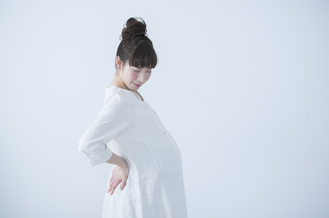 腰痛の妊婦,妊娠,36週目,