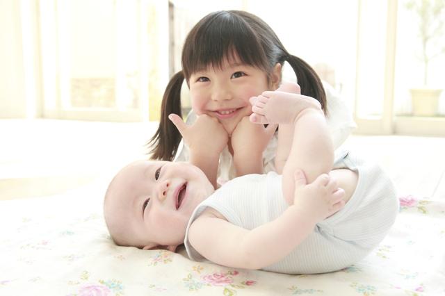 赤ちゃんとお姉ちゃん,産後,家事,