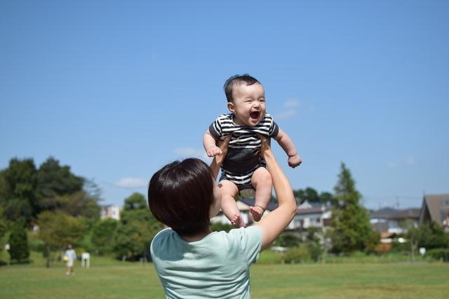 赤ちゃん高い高い,赤ちゃん,5ヶ月,