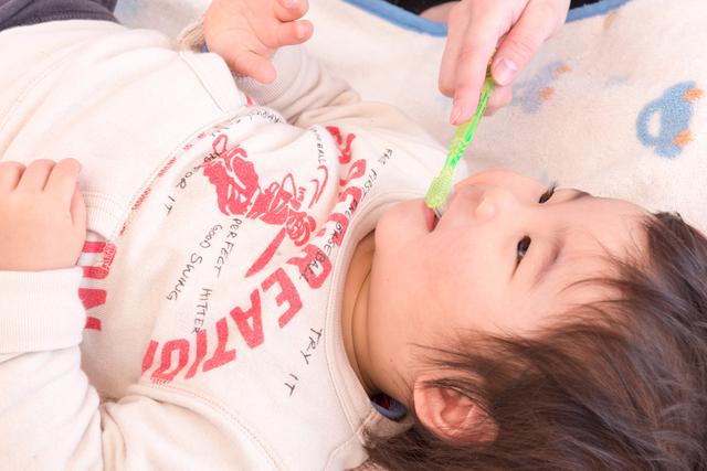赤ちゃんの歯磨き,生後,7ヶ月,赤ちゃん