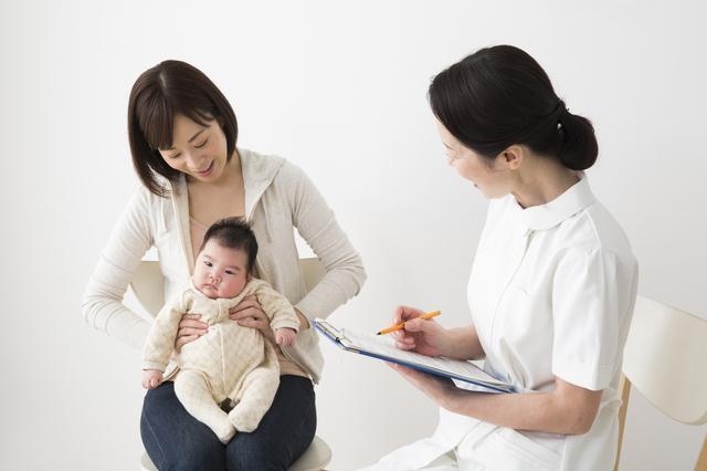 赤ちゃんの健診,生後,7ヶ月,赤ちゃん