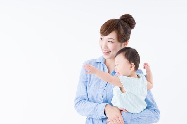 ママと赤ちゃん,生後,11ヶ月,