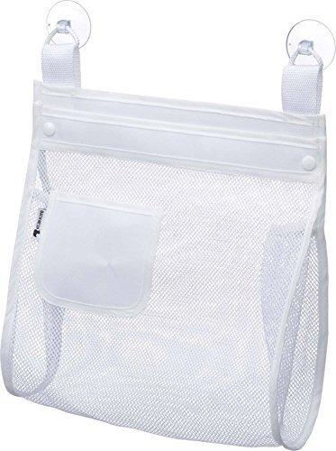 山崎実業 収納袋 お風呂おもちゃ袋 スクエア ホワイト 3367,赤ちゃん用品,収納,