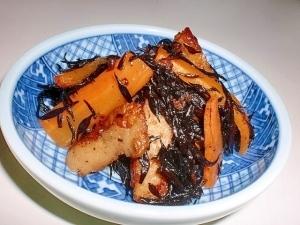 10分で作れる たっぷりさつま揚げひじき煮,時短レシピ,副菜,