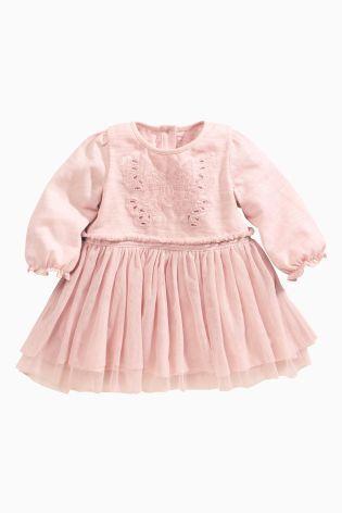 ピンク バタフライワンピース NEXT,ベビー服,海外ブランド,