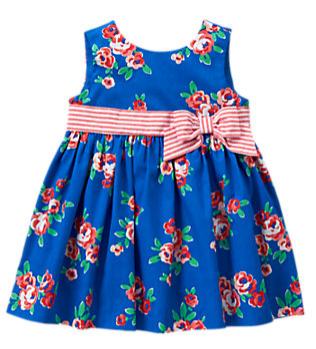 Floral Dress|ジンボリー,ベビー服,海外ブランド,