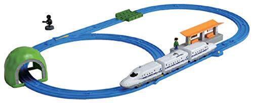 プラレール N700A新幹線ベーシックセット プラレールはじめてDVD付き,クリスマス,おもちゃ,定番