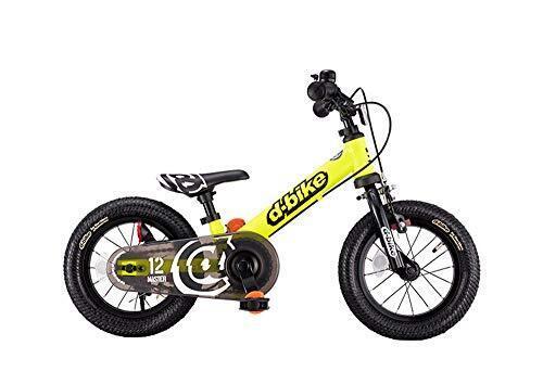 アイデス D-Bikemaster ディーバイクマスター 12 EZB ネオンイエロー ペタルレスバイク→自転車へ5秒で切り替え 「イージーブレーキ」搭載,ペダルなし,自転車,