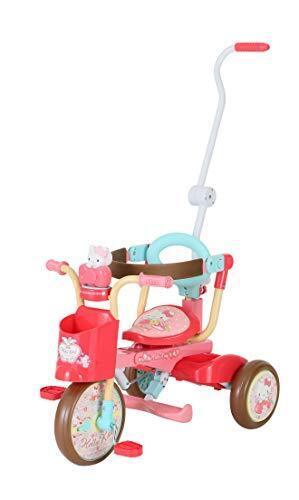 折りたたみ三輪車 ハローキティ オールインワンUPⅡ,1歳,おもちゃ,