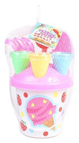 オンダ 砂遊びセット アイスクリームバケツセット,1歳,おもちゃ,