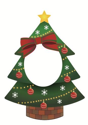 へんしんパネル ツリー,おうち,クリスマス,
