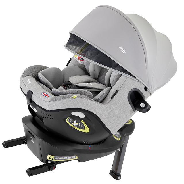 「Joie チャイルドシートi-Arc 360°(アイ・アーク)キャノピー付,チャイルドシート,安全基準,出産準備