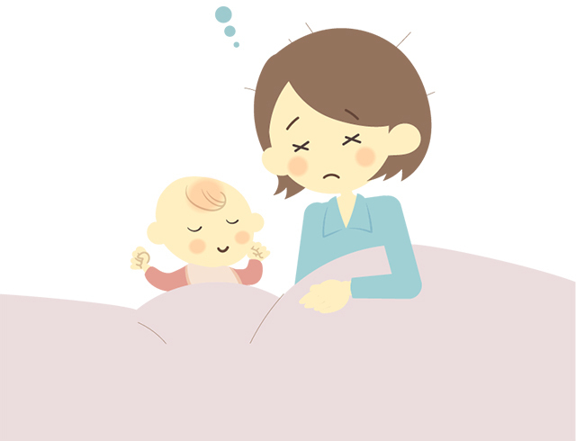 添い寝,ベビーベッド,出産準備,赤ちゃん