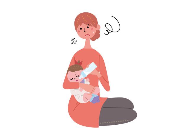 赤ちゃんが母乳・ミルクを飲まない,母乳,出ない,トラブル