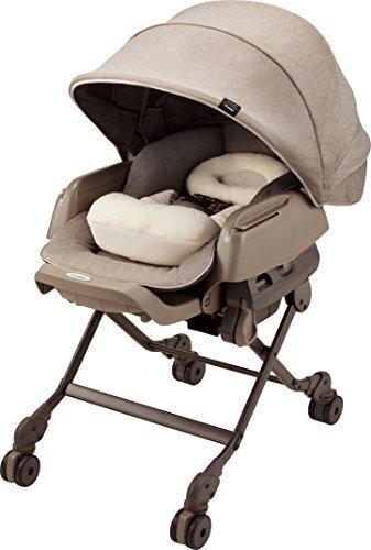 コンビ ホワイトレーベル ハイローベッドチェアー ネムリラ AUTO SWING BEDi おやすみドーム EG ヘーゼルベージュ(BE) 0か月~,赤ちゃん,寝ない,