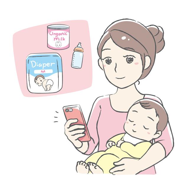 子供用品をどこで買っていいかわからない,赤ちゃんとの生活,大変,
