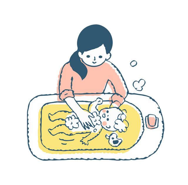 赤ちゃんのお風呂に困ったら,産後,困ったこと,