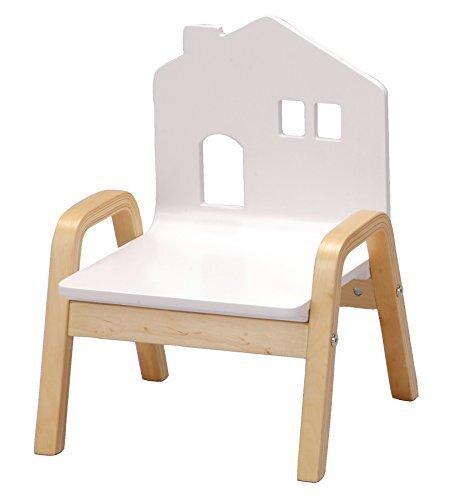 キッズ用木製チェア おうちのいす ホワイト ONHC-002,コズレ,プレゼント,当選