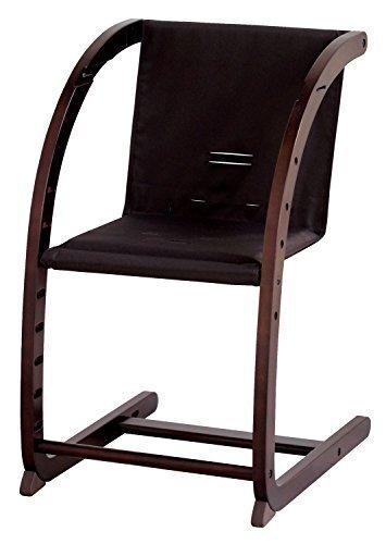 farska(ファルスカ) ロッキングからダイニングチェアまで ベビーと共に成長するイス スクロールチェア プラス ダークブラウン ブラウン,離乳食,椅子,