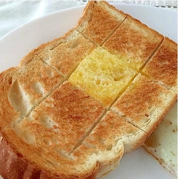喫茶店モーニング風バタートースト,バター,レシピ,