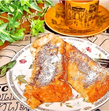 ふわふわ食感で至福のフレンチトースト,朝ごはん,10分,レシピ