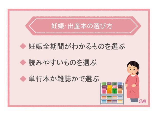 妊娠・出産本の選び方,妊娠本,出産本,おすすめ