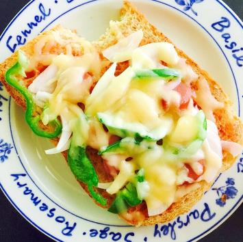 簡単ランチ☆ピザトースト,ランチ,レシピ,