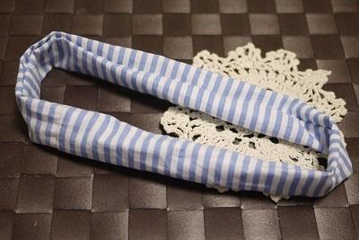 布でできた輪っか,シュシュ,作り方,授乳ストラップ