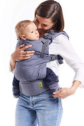 ボバXベビーキャリア – 赤ちゃんの成長に応じて調整可能なソフト構造背面ベビーキャリア 3kg ~ 20kg まで対応 (Grey),抱っこ紐,おすすめ,