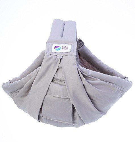 Baba Slings ババスリング 【日本正規品保証付】【正規代理店】 抱っこひも/ベビースリング BBS006 シルバー,抱っこ紐,おすすめ,