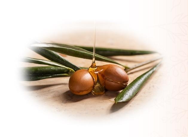 オーガニックの高純度の天然植物成分アルガンオイルを配合,