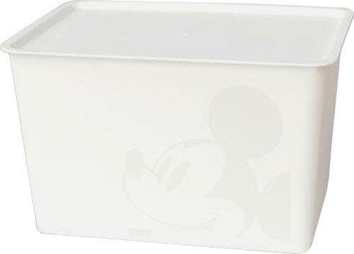 錦化成 収納ケース・ボックス ミッキーマウス/アイボリー ラージサイズ スクエアBOX,ベビー服,収納,100均