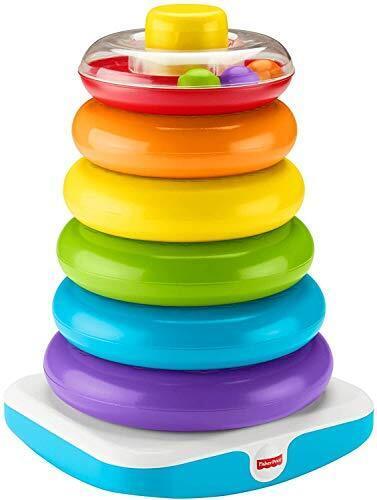 フィッシャープライス(fisher price) ジャンボ ゆらりんタワー 【12カ月~36カ月】 【BPAフリー】【 知育玩具 型はめ 】 GJW15,知育玩具,1歳,