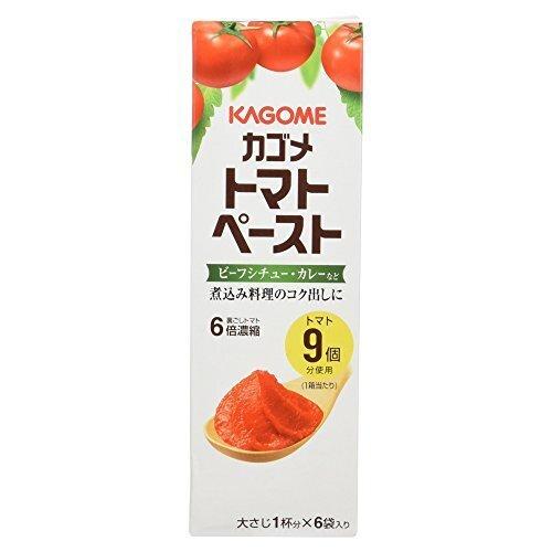 カゴメ トマトペーストミニパック 6袋入,離乳食,トマト,