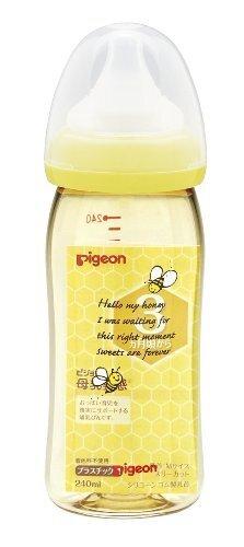 ピジョン 母乳実感 哺乳びん プラスチック製 240mL ハニービー柄,哺乳瓶,選び方,