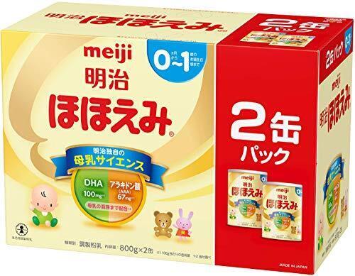 明治 ほほえみ 2缶パック 800g×2缶,粉ミルク,口コミ,