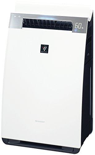 シャープ 加湿 空気清浄機 プラズマクラスター 25000 ハイグレード 21畳 / 空気清浄 34畳 自動掃除 2018年モデル ホワイト KI-JX75-W,空気清浄機,人気,