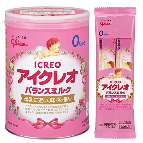【Amazon.co.jp限定】 アイクレオ バランスミルク800g (サンプル付) 粉ミルク ベビー用【0ヵ月~1歳頃】,粉ミルク,おすすめ,