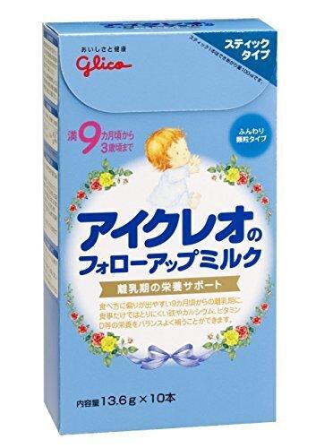 アイクレオ フォローアップミルク スティックタイプ 13.6g×10P ×2セット,フォローアップミルク,おすすめ,